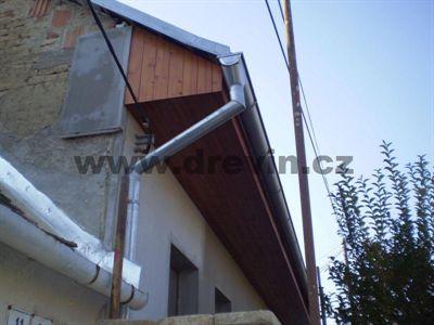 Podbití střechy polystyrenem